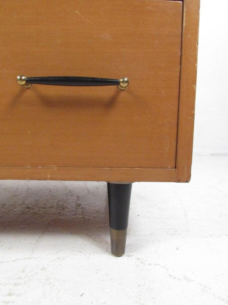 Mid-Century Modern Highboy Dresser by R-Way For Sale 9