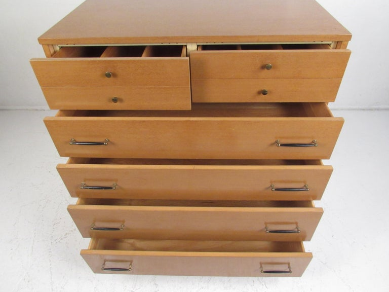 Mid-Century Modern Highboy Dresser by R-Way In Good Condition For Sale In Brooklyn, NY