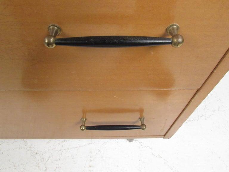 Mid-Century Modern Highboy Dresser by R-Way For Sale 2