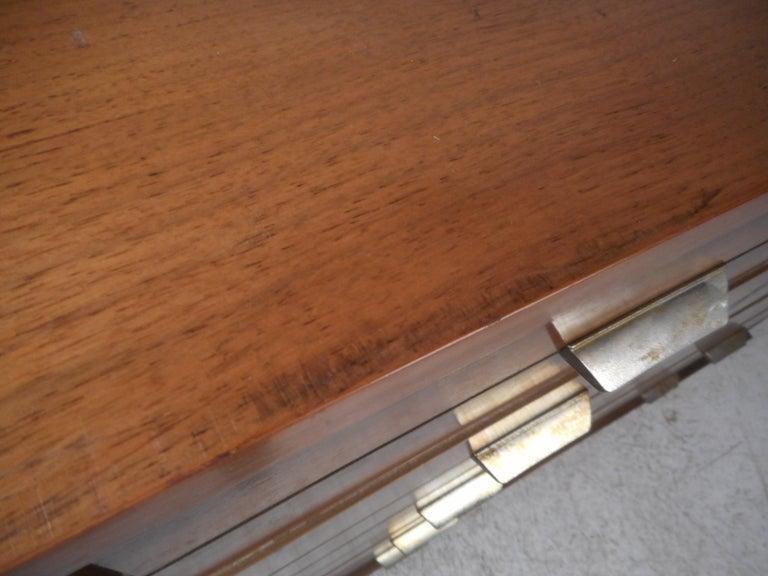 Mid-Century Modern Highboy Dresser For Sale 5