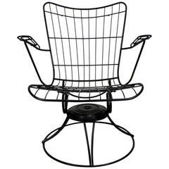 Mid-Century Modern Homecrest Bottemiller Outdoor Lounge Chair