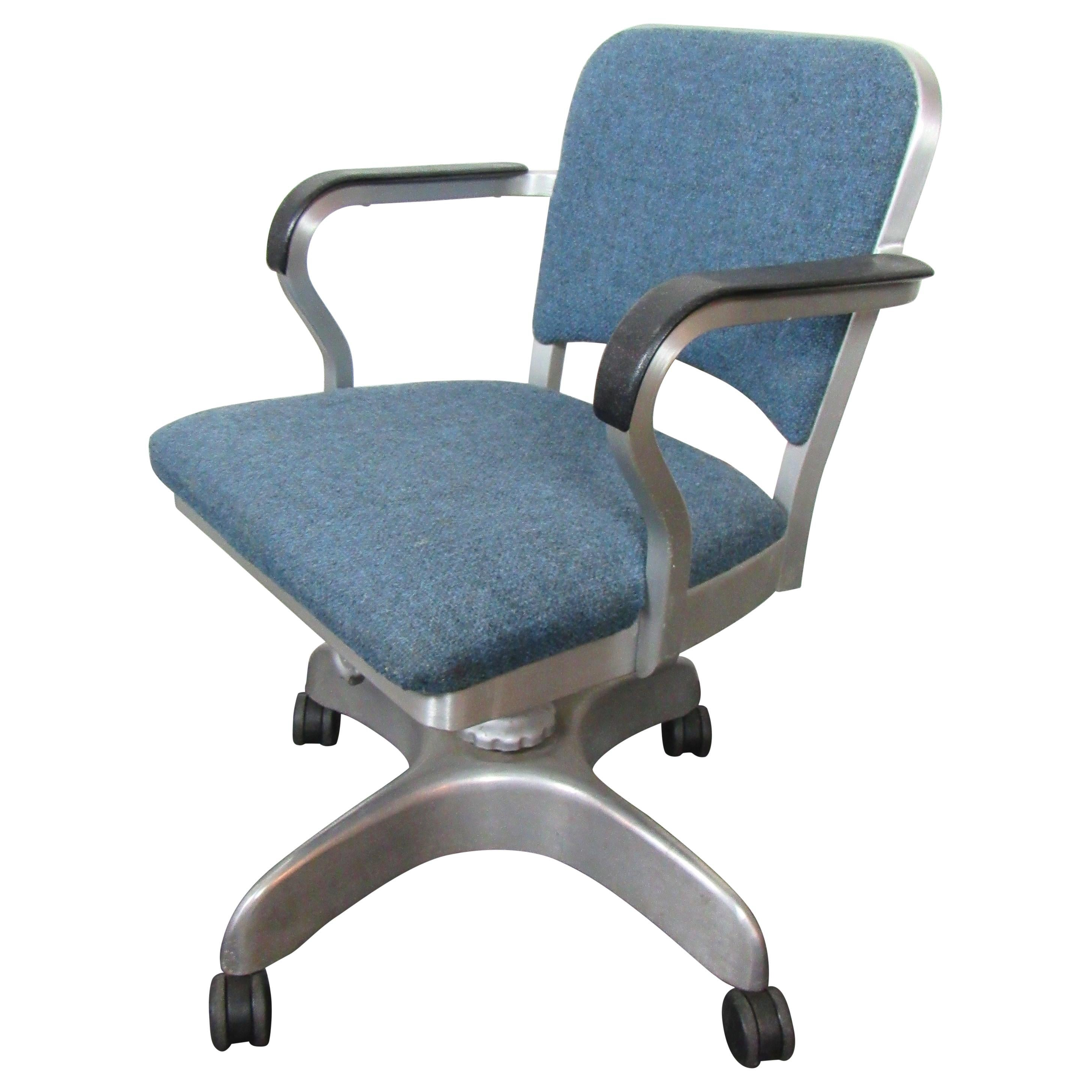 Mid-Century Modern Industrial Emeco Office Chair
