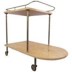Mid-Century Modern Italian Bar Cart by Aldo Tura