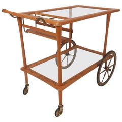 Mid-Century Modern Italian Bar Cart