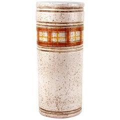 Mid-Century Modern Italian Bitossi by Rosenthal Ceramic Vase