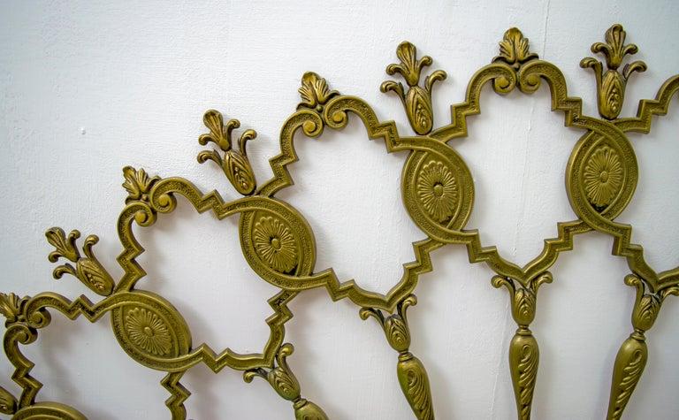 Mid-Century Modern Italian Brass Bed, 1960s For Sale 2