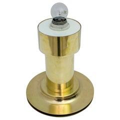 Mid-Century Modern Italian Brass Table Lamp, 1960s
