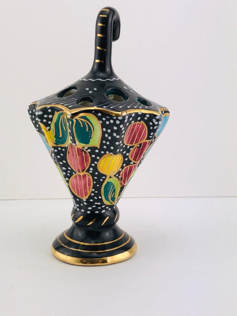 Mid-20th Century Mid-Century Modern Italian Ceramic by Cima Deruta, 1950s For Sale