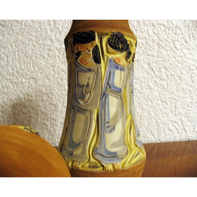Mid-Century Modern Italian Ceramic Vases For Sale 5
