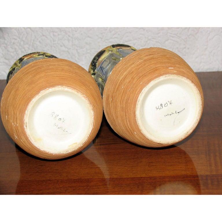 Mid-Century Modern Italian Ceramic Vases For Sale 3