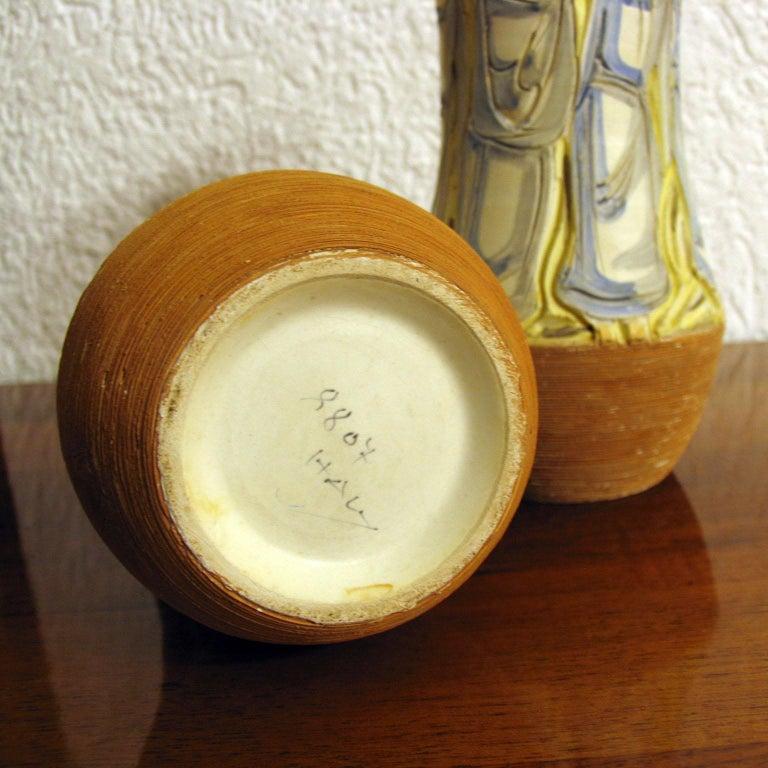 Mid-Century Modern Italian Ceramic Vases For Sale 4