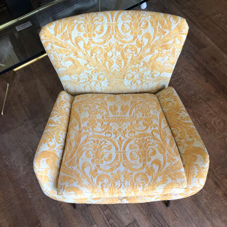 Mid-Century Modern Italian Chair In Good Condition For Sale In East Hampton, NY