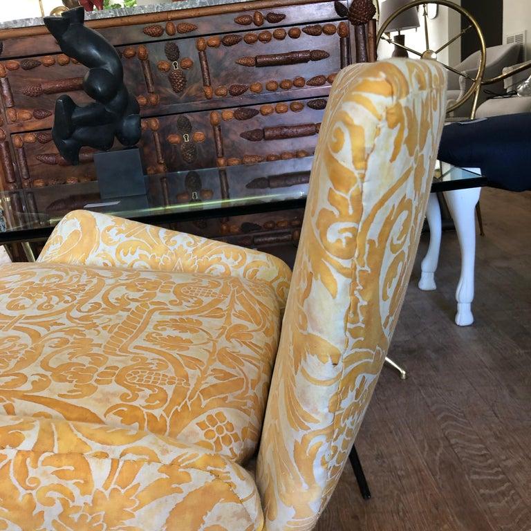 Iron Mid-Century Modern Italian Chair For Sale