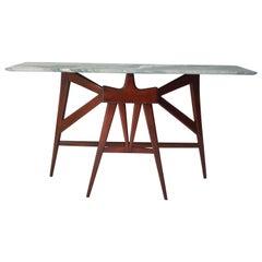 Mid-Century Modern Italian Console Table in the Manner of Enzio Mari