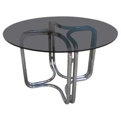 Mid-Century Modern Italian Dining or Centre Table by Giotto Stoppino, 1970s