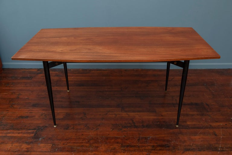 Mid-Century Modern Italian Dining Table or Desk In Good Condition In San Francisco, CA
