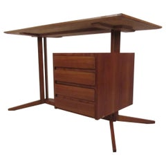 Mid-Century Modern Italian Floating Top Desk