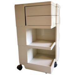 "Mid-Century Modern Italian Joe Coplombo ""Boby 3"" Portable Storage System"