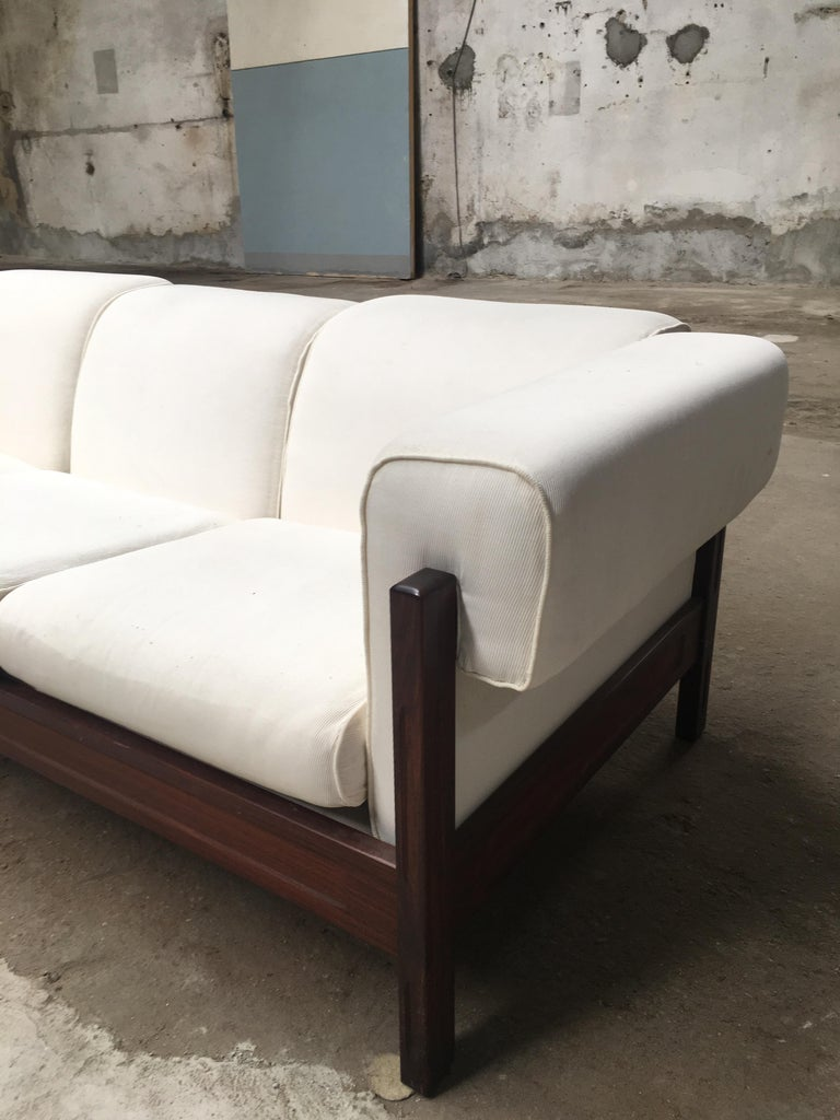 Mid Century Modern Italian Living Room Set Composed Of Sofa And Armchairs For 2