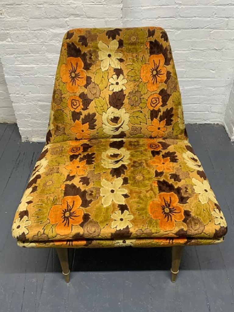 Mid-20th Century Mid-Century Modern Italian Lounge Chair For Sale