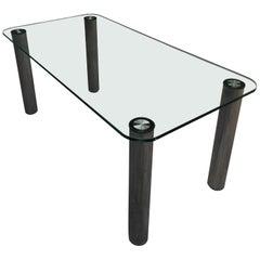 """Mid-Century Modern Italian """"Marcuso"""" Table by Marzo Zanuso for Zanotta, 1970s"""