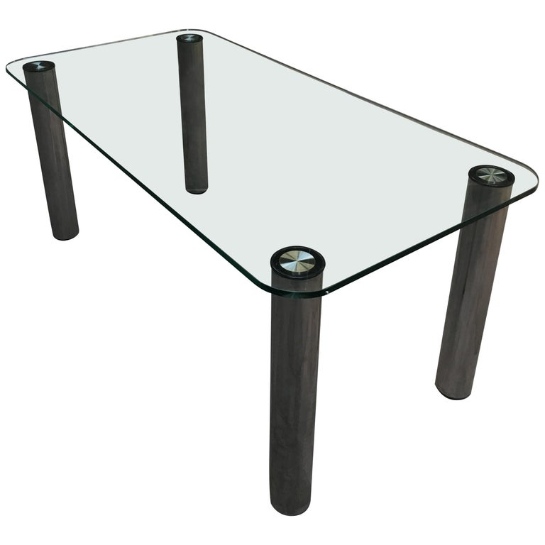 "Mid-Century Modern Italian ""Marcuso"" Table by Marzo Zanuso for Zanotta, 1970s For Sale"