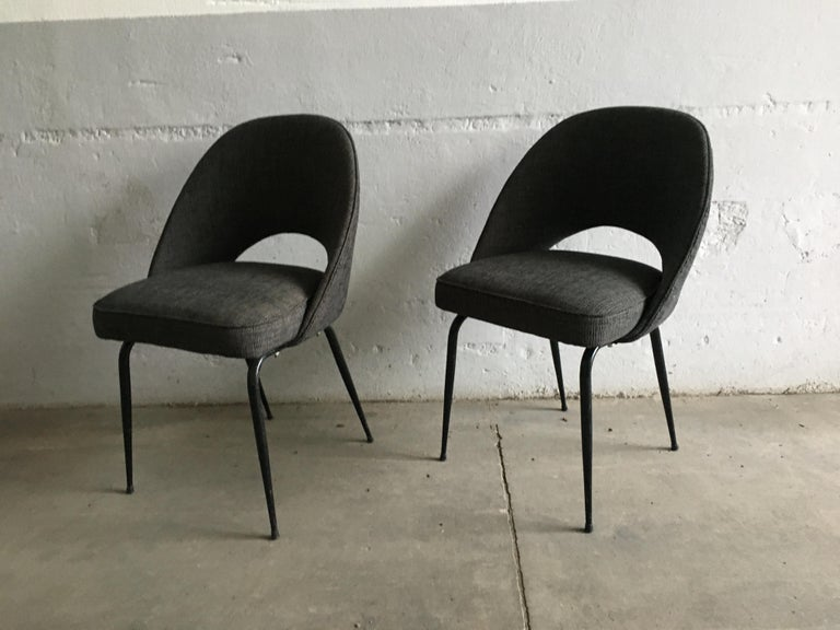 Mid-20th Century Mid-Century Modern Italian Pair of Upholstered Chairs, 1960s For Sale