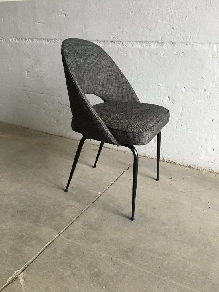 Mid-Century Modern Italian Pair of Upholstered Chairs, 1960s For Sale 2