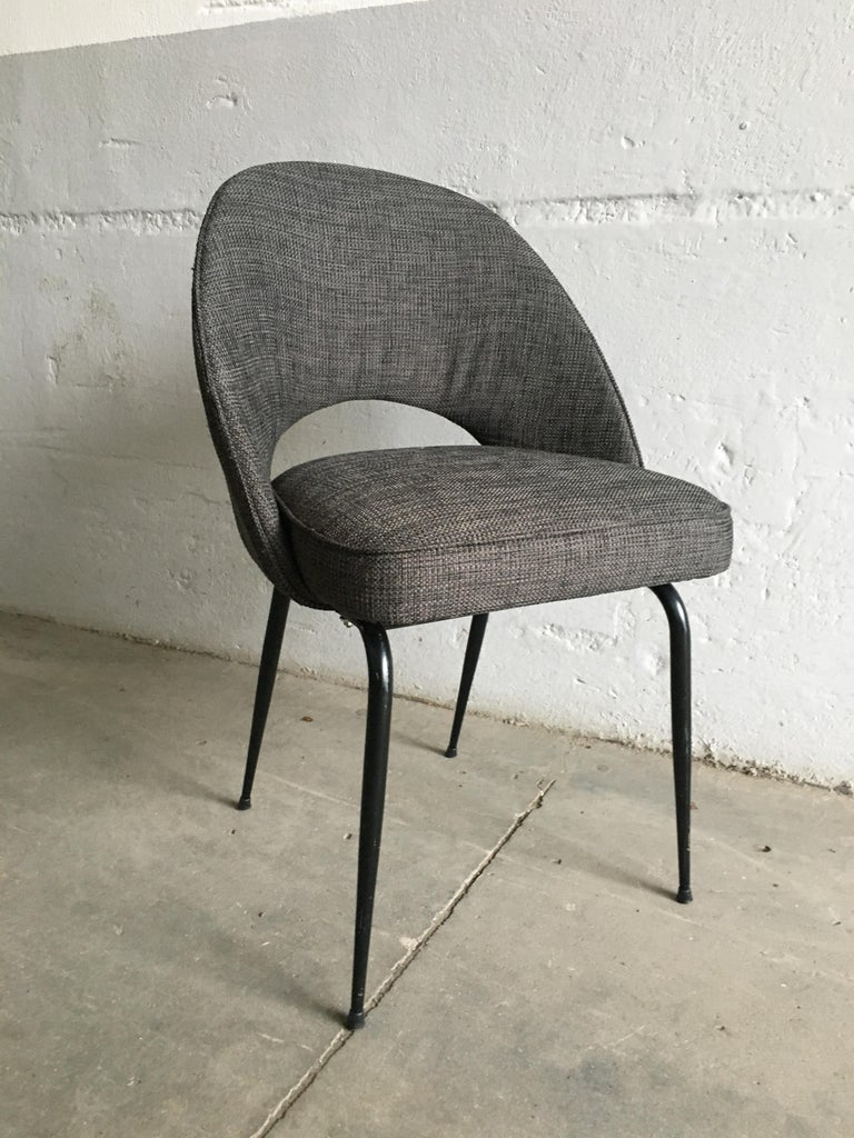 Mid-Century Modern Italian Pair of Upholstered Chairs, 1960s For Sale 3