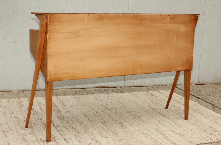 Mid-Century Modern Italian Sculptural Two-Tier Console For Sale 15
