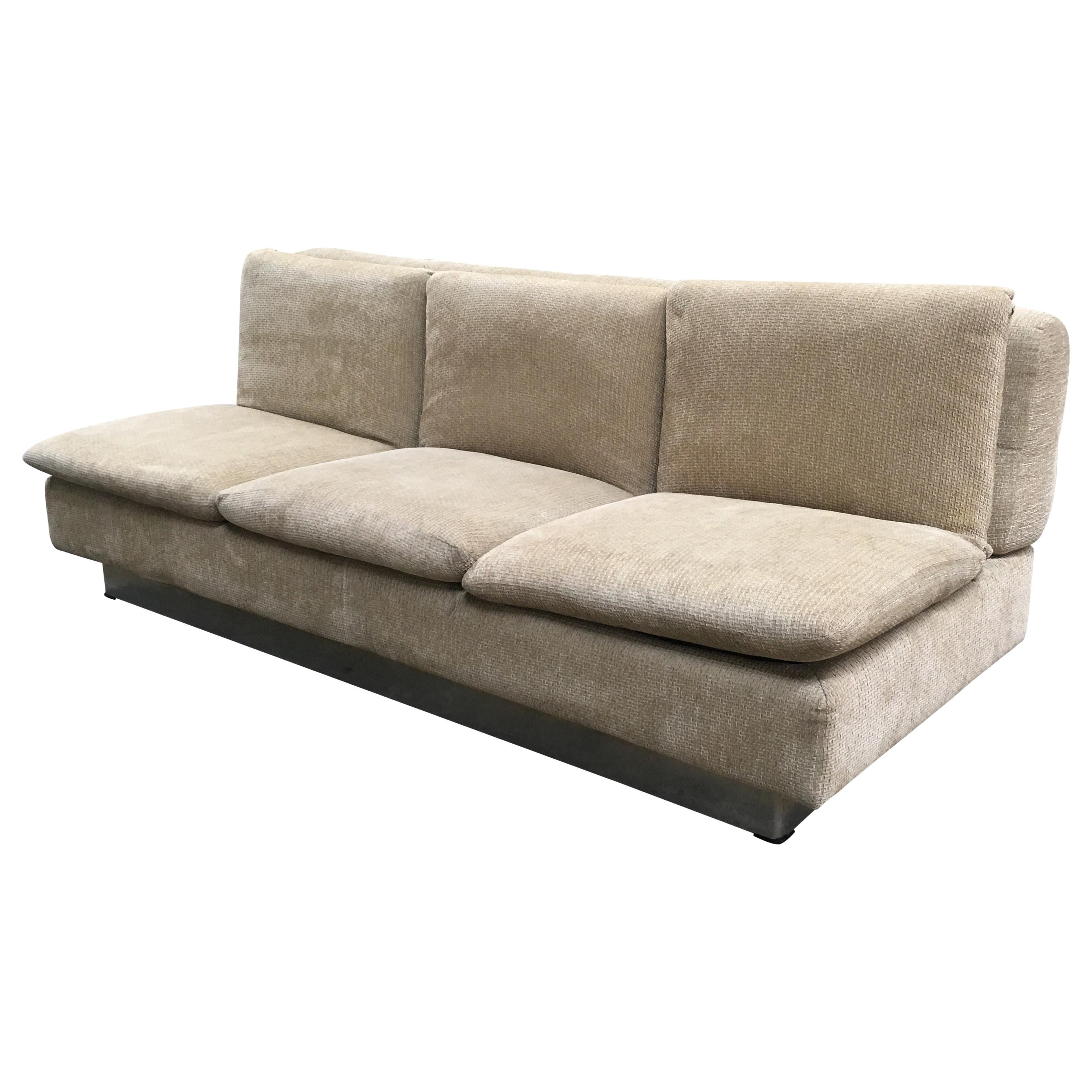 Picture of: Mid Century Modern Italian Sofa Bed By Saporiti 1970s For Sale At 1stdibs