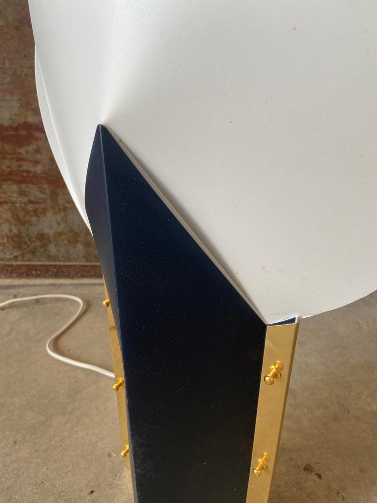 Mid-Century Modern Italian Table Lamp by Samuel Parker for Slamp, 1980s For Sale 3
