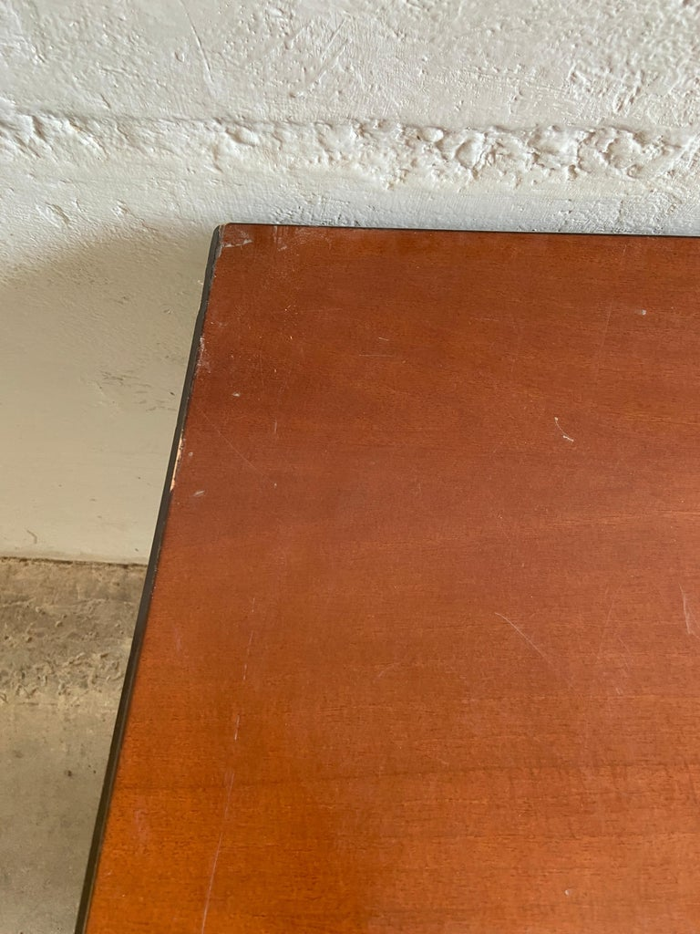 Mid-Century Modern Italian Table with Console by Gianni Moscatelli for Formanova For Sale 8