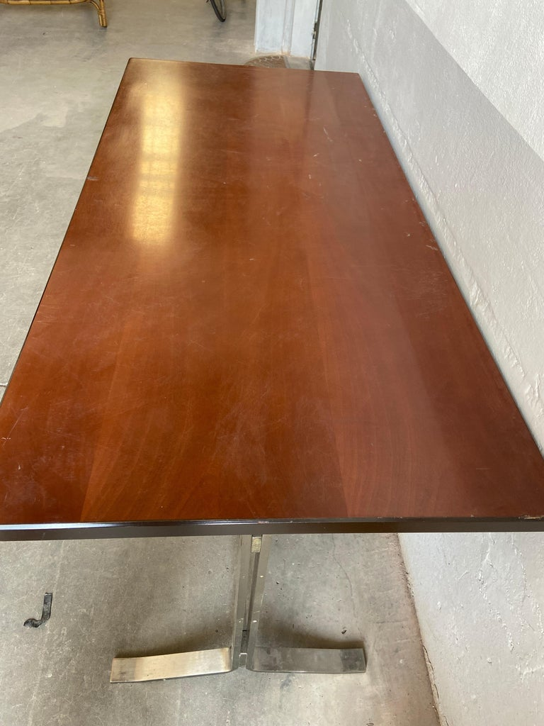 Mid-Century Modern Italian Table with Console by Gianni Moscatelli for Formanova For Sale 4