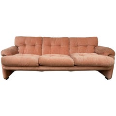 Mid-Century Modern Italian Three-Seat Sofa by Tobia Scarpa for B&B, 1960s