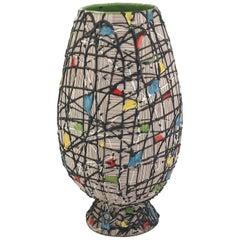 Mid-Century Modern Italian Vase By Fratelli Fanciullacci, 1970s