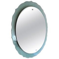 Mid-Century Modern Italian Wall Mirror