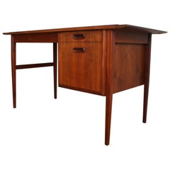 Mid-Century Modern Jack Cartwright Walnut Desk