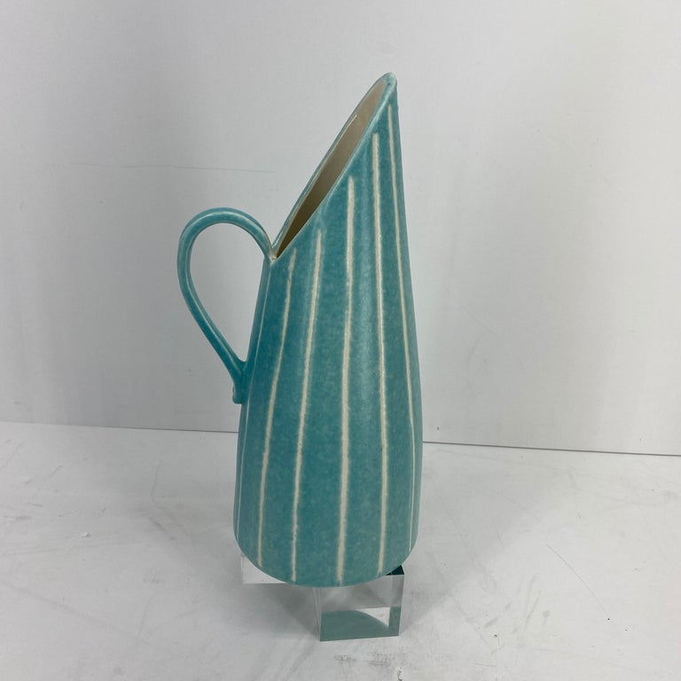 Mid-Century Modern Jaru of California Pitcher and Beaker/Cup Set For Sale 6