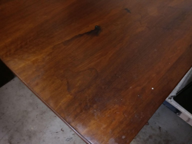 Mid-Century Modern Jens Risom Dining Table For Sale 7