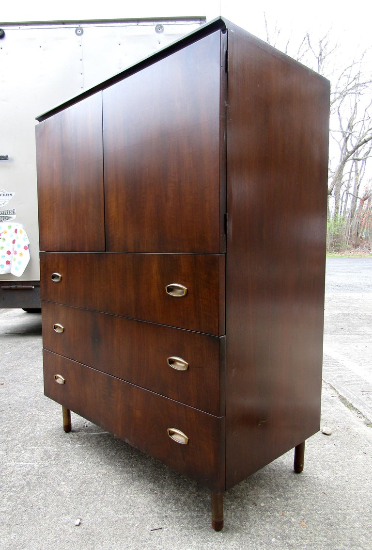 Mid-Century Modern John Stuart Cabinet For Sale 1