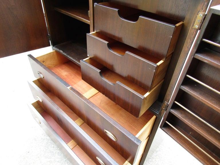 Mid-Century Modern John Stuart Cabinet For Sale 4