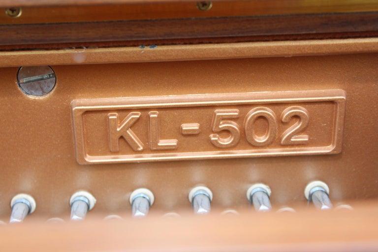 Mid-Century Modern Kawai Upright Piano For Sale 6