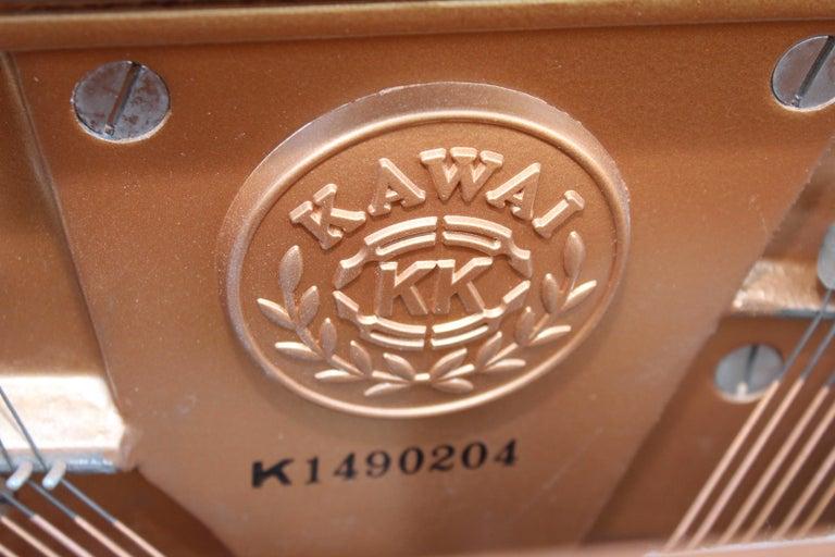 Mid-Century Modern Kawai Upright Piano For Sale 8