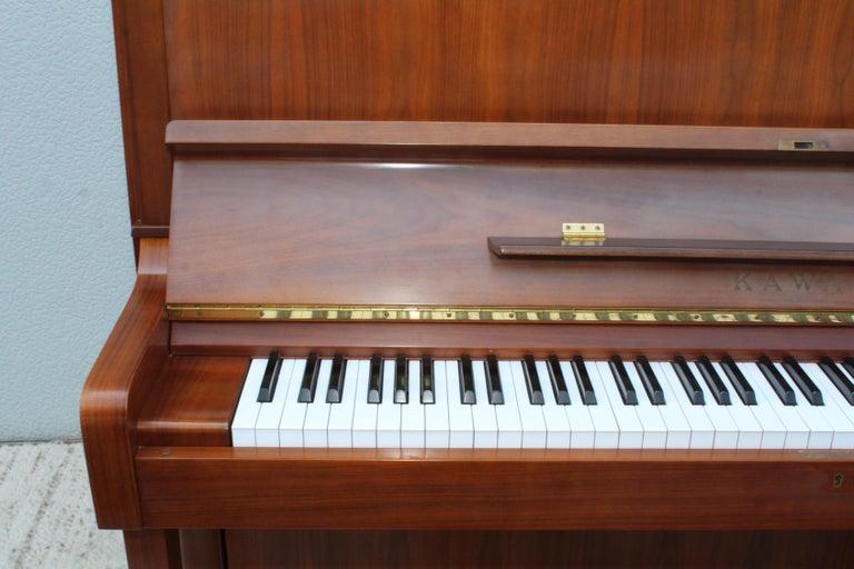 Mid-Century Modern Kawai Upright Piano For Sale 11
