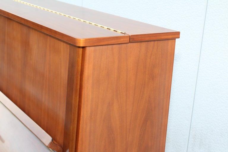 Mid-Century Modern Kawai Upright Piano For Sale 1