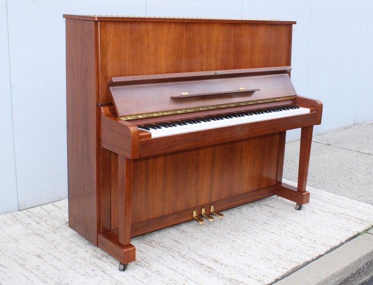Mid-Century Modern Kawai Upright Piano For Sale 2