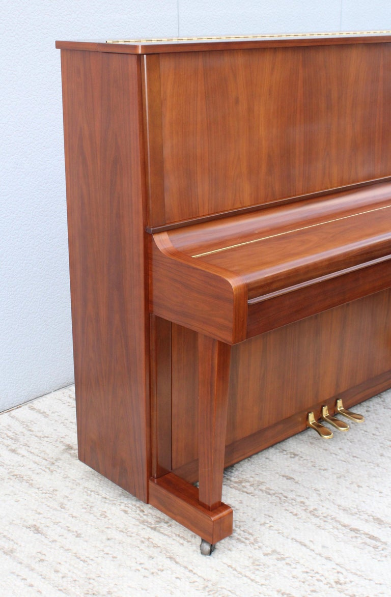 Mid-Century Modern Kawai Upright Piano For Sale 3