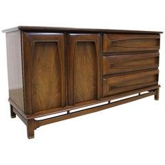Mid-Century Modern Kent Coffey 'The Grenada' Walnut Credenza Dresser