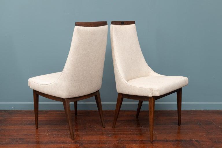 Mid-Century Modern Kipp Stewart Dining Chairs For Sale 4